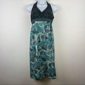 Athleta Paisley Halter Dress